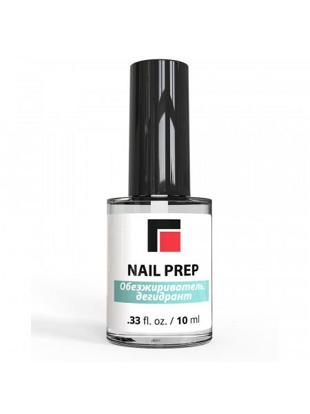 NAIL PREP Обезжириватель (дегидрант) для гель-лака 10мл. MILV