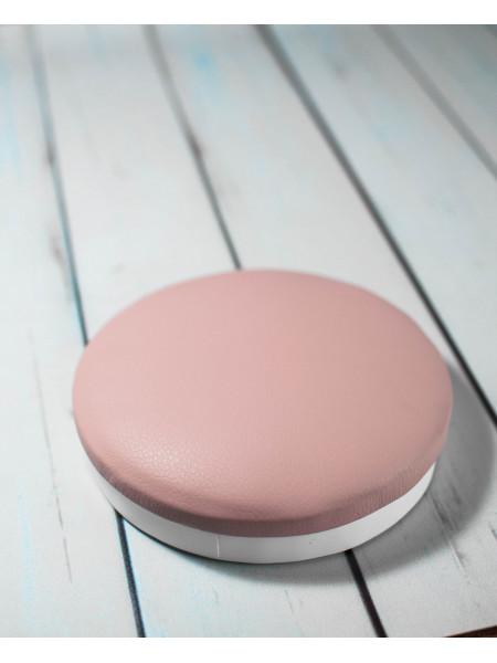 Подставка маникюрная под локоть круг (розовая)